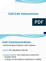 Lecture 10 Cell Communication Chapter 9