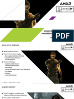 Augmented Hair in Deus Ex Universe Projects – TressFX 3.0