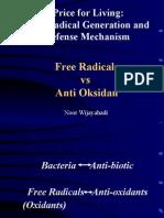 Anti Oksidan vs Free Radicals