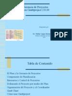 Gerencia de Proyectos con Ganttproject2.09  2010.ppt