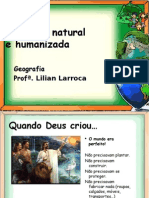 Paisagem Natural e Humanizada