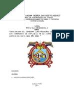 Karem Huaman Gonzales - AFECTACION DEL DERECHO CONSTITUCIONAL AL TRABAJO EN LOS CONTRATOS DE SUPLENCIA EN LA CORTE SUPERIOR DE JUSTICIA DE CUSCO EN EL AÑO 2013