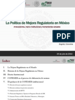 COFEMER PPT Mejora Regulatoria (1)