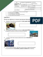 Problemas e Operações 4º Ano 2013