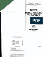 145194077 Genaro R Carrio Notas Sobre Derecho y Lenguaje Abeledo Perrot 1986