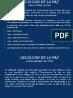 Decalogo de La Paz 05-12-09