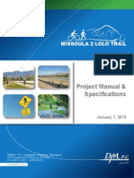 M2LT Project Manual & Specifications
