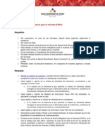 Recaudos Credito Hipotecario FAOV Banco Bicentenario -Notilogia