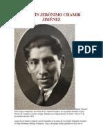 Martín Jerónimo Chambi Jiménez