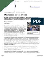 Parque Albedi, nota en Página 12