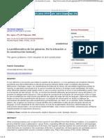 Charaudeau, Patrick (2004) - La Problemática de Los Géneros. de La Situación a La Construcción Textual