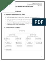 Tema I. Conocimientos Previos de Comunicaion