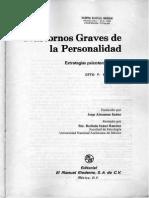 OTTO KERNBERG. Trast.graves de La Personalidad. Cap.1_Diagnostico Estructural