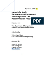 UDOT Hyperbolic Model Report