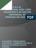 Presentacion Ecuacion Universal Perdida Suelo