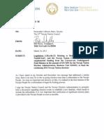 Legislation CMA-06-15