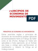 Principios de Economia de Movimientos