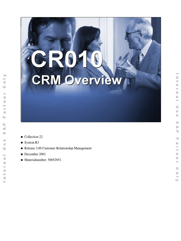 CR010 Crm Overview Customer Relationship