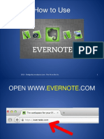How to Use Evernote Tutorial