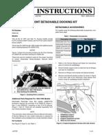 Harley Rear Docking Kit