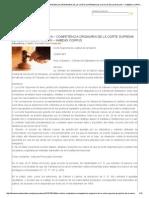 Fallo clásico_ COMPETENCIA ~ COMPETENCIA ORIGINARIA DE LA CORTE SUPREMA DE JUSTICIA DE LA NACION ~ HABEAS CORPUS _ Thomson Reuters Latam