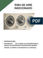 Sistema de Aire Acondicionado power point