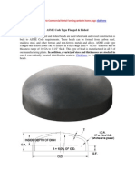 Asme Code Type Flanged Dished