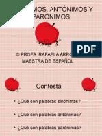 Sinónimos y Antónimos 2 (1)