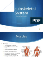 sm 15- musculoskeletal system