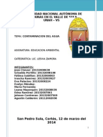 Contaminacion Del Agua Grupo #2