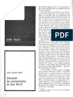 Julio Antonio Mella - Glosando los pensamientos de José Martí