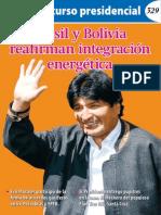 Discurso Presidencial 19-08-14 Brasil-Bolivia
