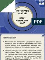 IPA Terpadu VIII - Bab 1- Gerak Dan Gaya