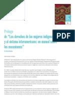 Manual sobre el Sistema Interamericano para las Mujeres Indígenas