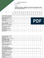 Evaluación Diagnóstica NT1