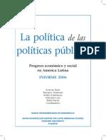 La Politica de Las Politicas Publicas