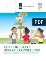 Guidance for scholl counselling