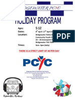 PCYC School Holiday Program April 2015