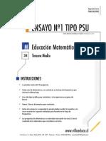 Ensayo1 Psu Matematica 3medio 2014 Forma b
