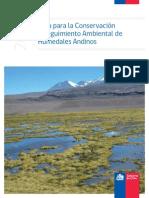 Guía Para La Conservación y Seguimiento Ambiental de Humedales Andinos