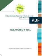 Relatório Final III CNIJMA