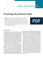 Cracking the Genetic Code