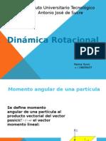 Dinamica de Rotacion Yonni Palma