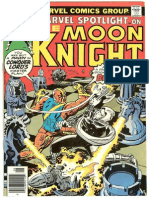 Marvel Spotlight 29 Vol 1 Moon Knight