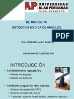 Teodolito Metodo de Medida de Angulos y Areas....Qe