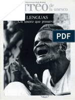El correo de la unesco - Lenguas un tesoro que preservar, 1983, XXXVI