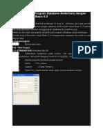 Tutorial Contoh Program Database Sederhana dengan Microsoft Visual Basic 6.doc
