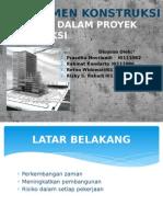 Manajemen Konstruksi Asuransi