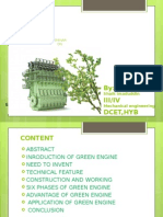 Green Engine Ppt 2