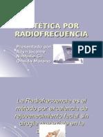 Estã‰Tica Por Radiofrecuencia Diapositivas